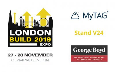 MyTAG at London Build Expo
