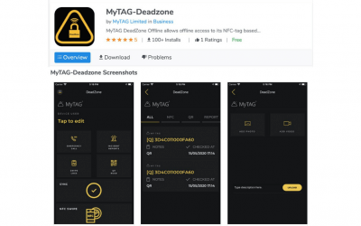 MyTAG launches updated Deadzone App