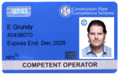 MyTAG chosen by NOCN Job Cards
